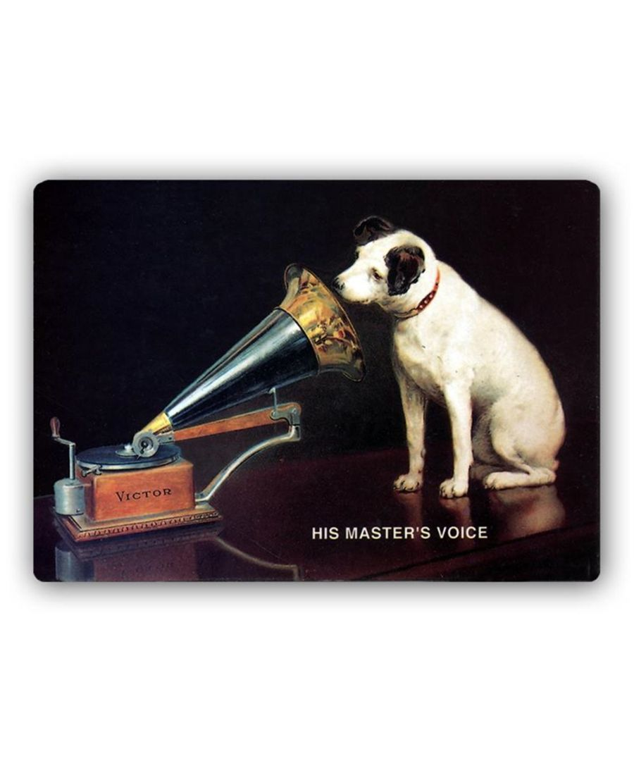 Image for Vintage Advertising Poster - Metal Print  - Nipper - His Master'S Voice