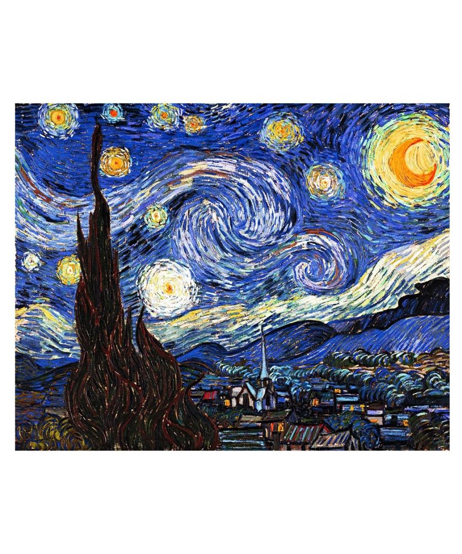 Image for Canvas Print - The Starry Night - Vincent Van Gogh