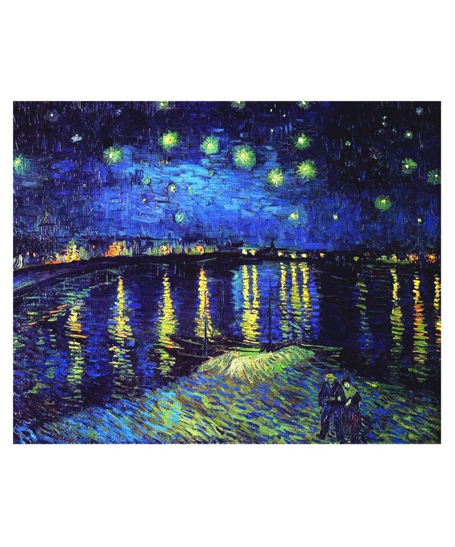 Image for Canvas Print - Starry Night Over The Rhone - Vincent Van Gogh