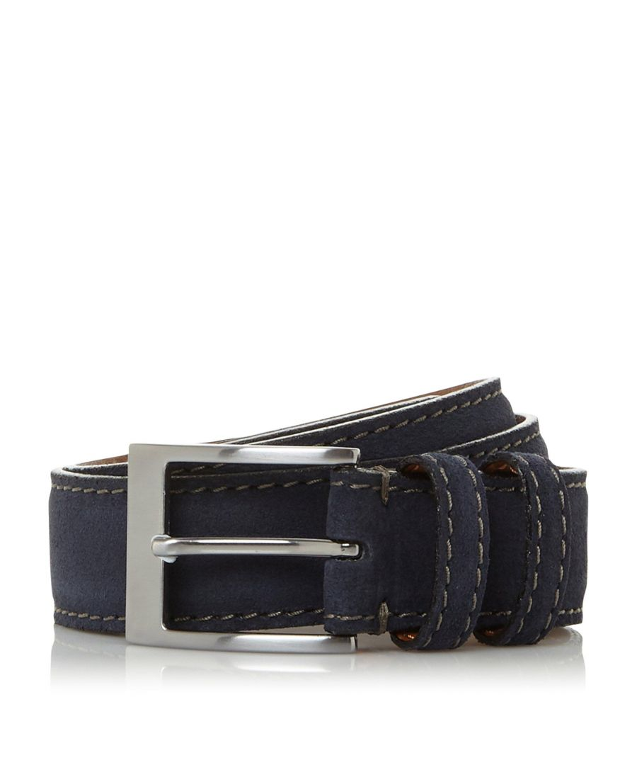 Image for Dune Mens OAKMOSS Burnished Belt