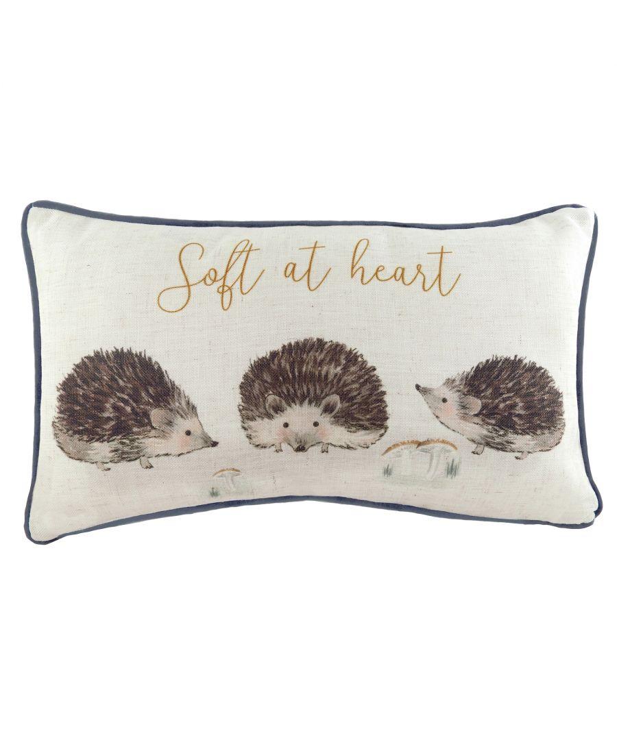Image for Oakwood Hedgehogs Cushion