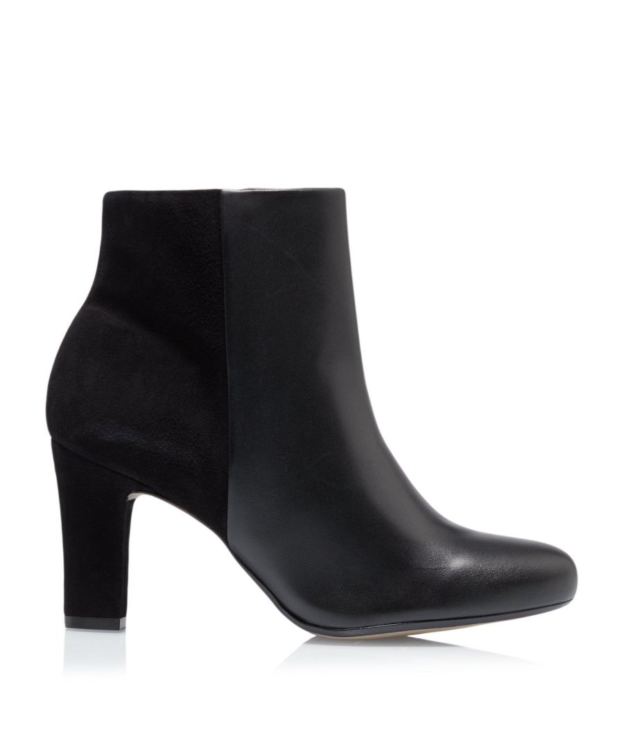 Image for Dune Ladies OHARA Comfort Side Zip Heel Ankle Boots