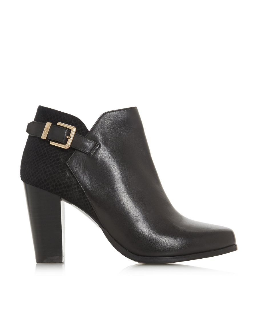 Image for Dune Ladies OLERIA Mixed Upper Ankle Boots