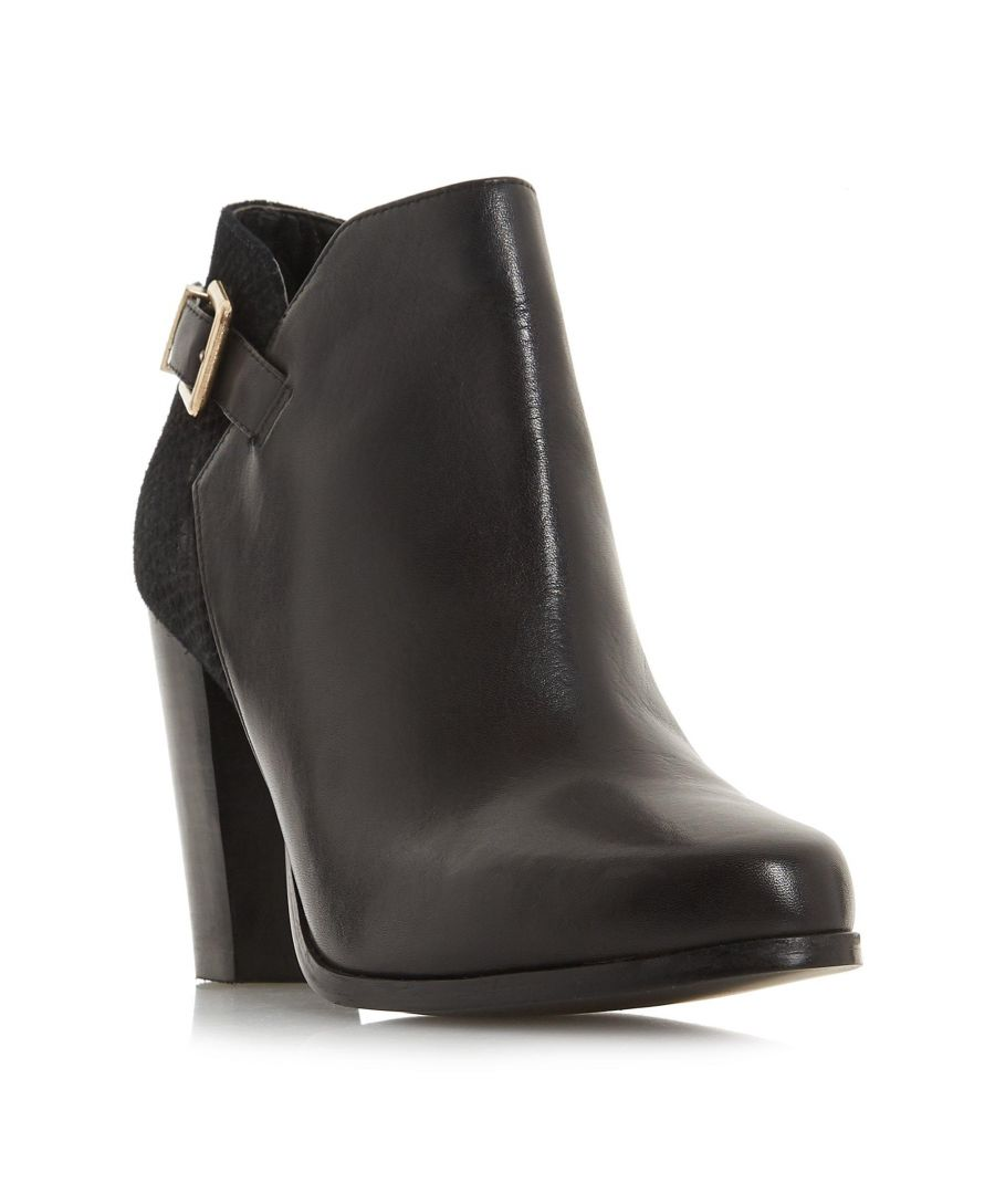 Image for Dune Ladies OLERIA Mixed Upper Ankle Boot