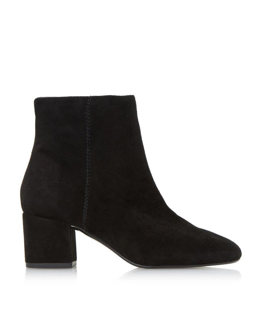 Image for Dune Ladies OLYVEA Mid Block Heel Ankle Boots