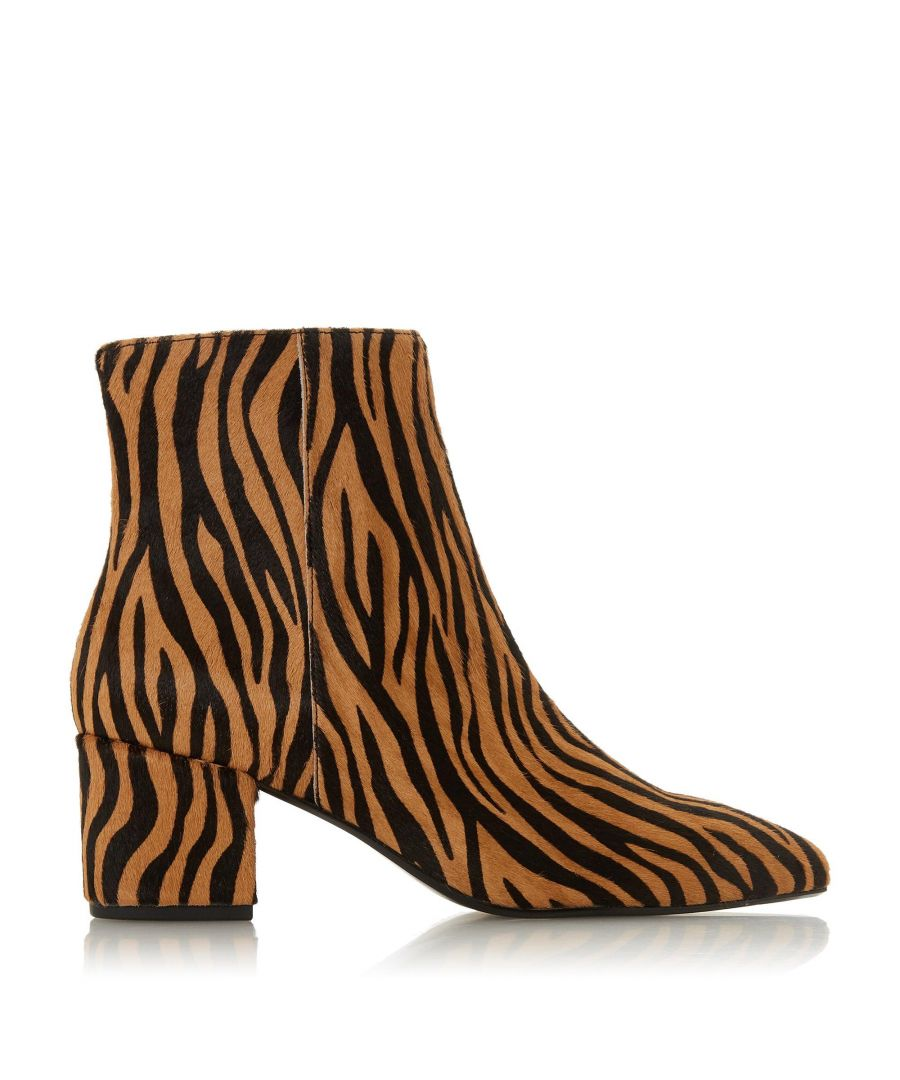 Image for Dune Ladies OMARII Block Heel Pointed Ankle Boots