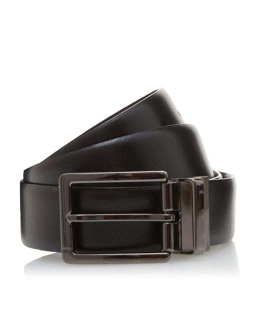 Image for Dune Mens OPRA Reversible Leather Belt