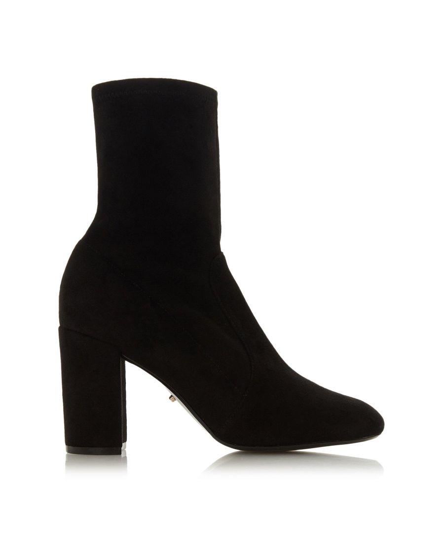 Image for Dune Ladies ORIEL Block Heel Sock Boots
