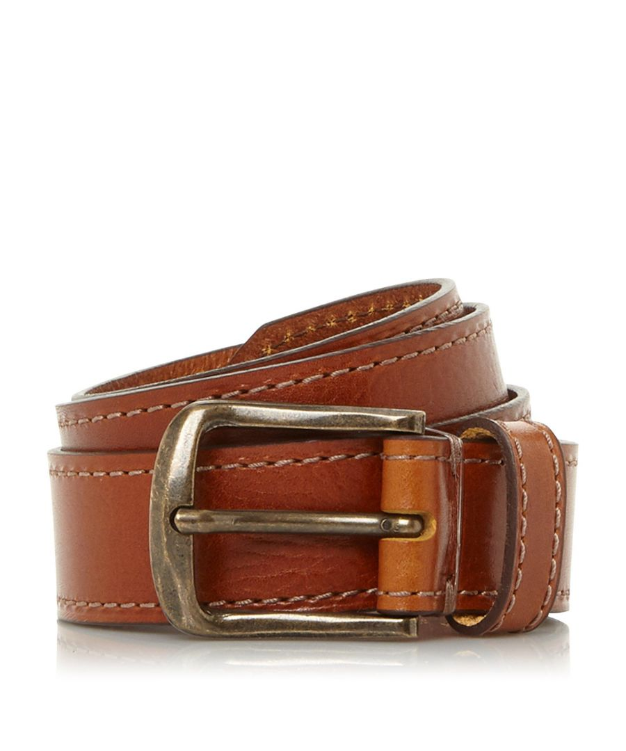 Image for Dune Mens ORPINGTON Waxy Buckle Belt