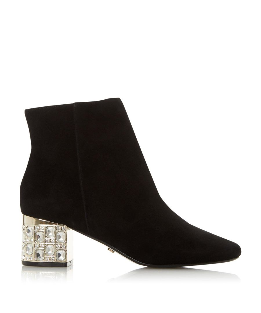 Image for Dune Ladies ORRIANA Jeweled Heeled Ankle Boots