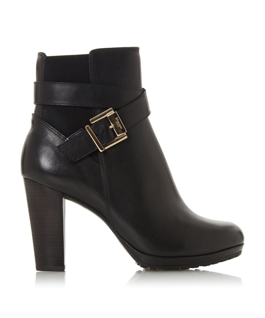 Image for Dune Ladies ORRION  Buckle Block Heel Boots