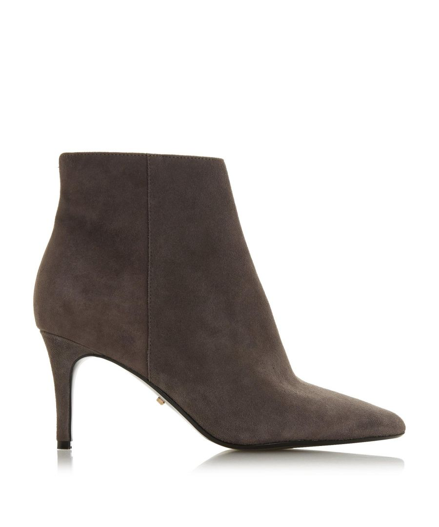 Image for Dune Ladies OSHAA Pointed Toe Side Zip Ankle Boots