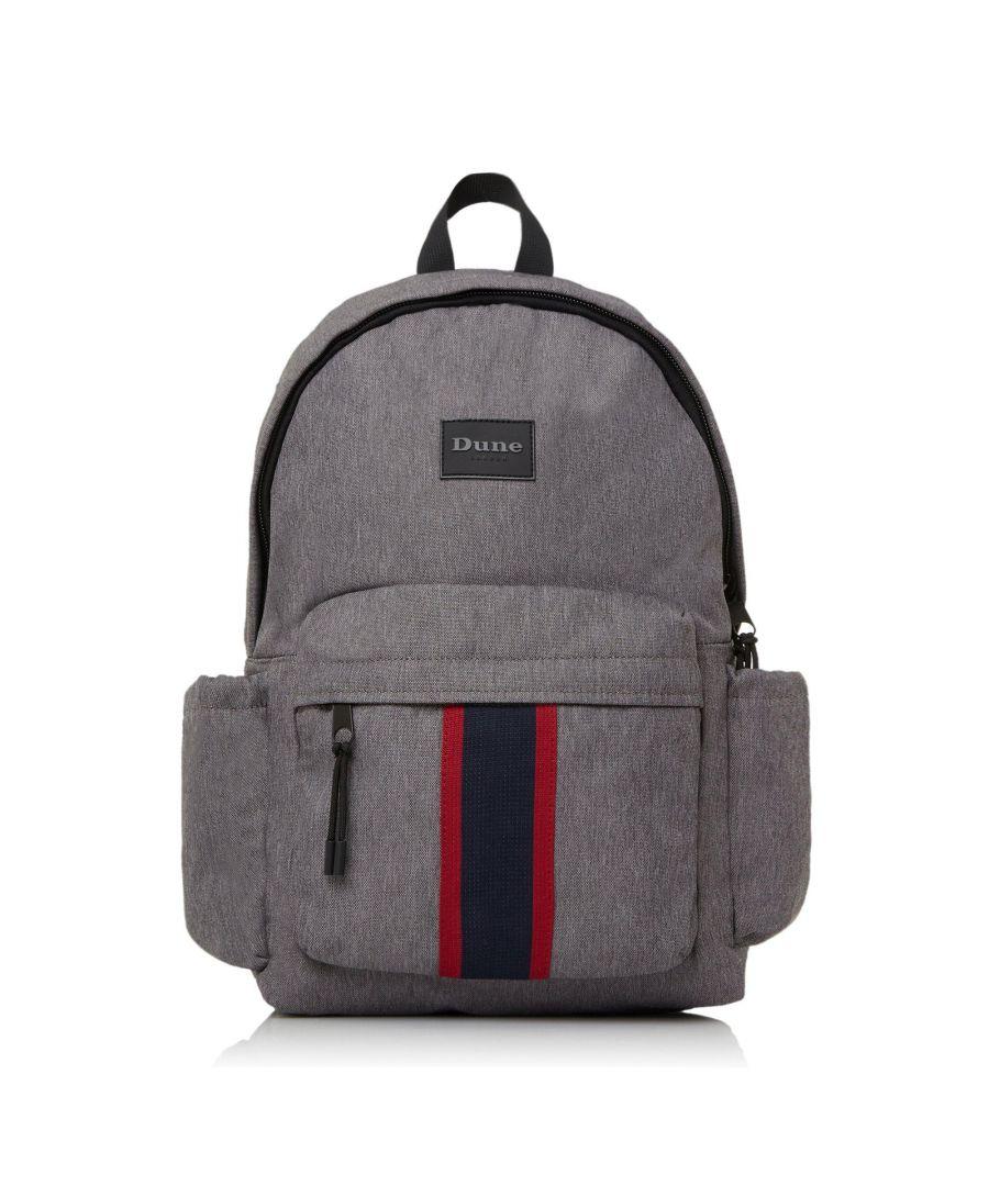 Image for Dune Mens OSHKOSH Stripe Branded Backpack