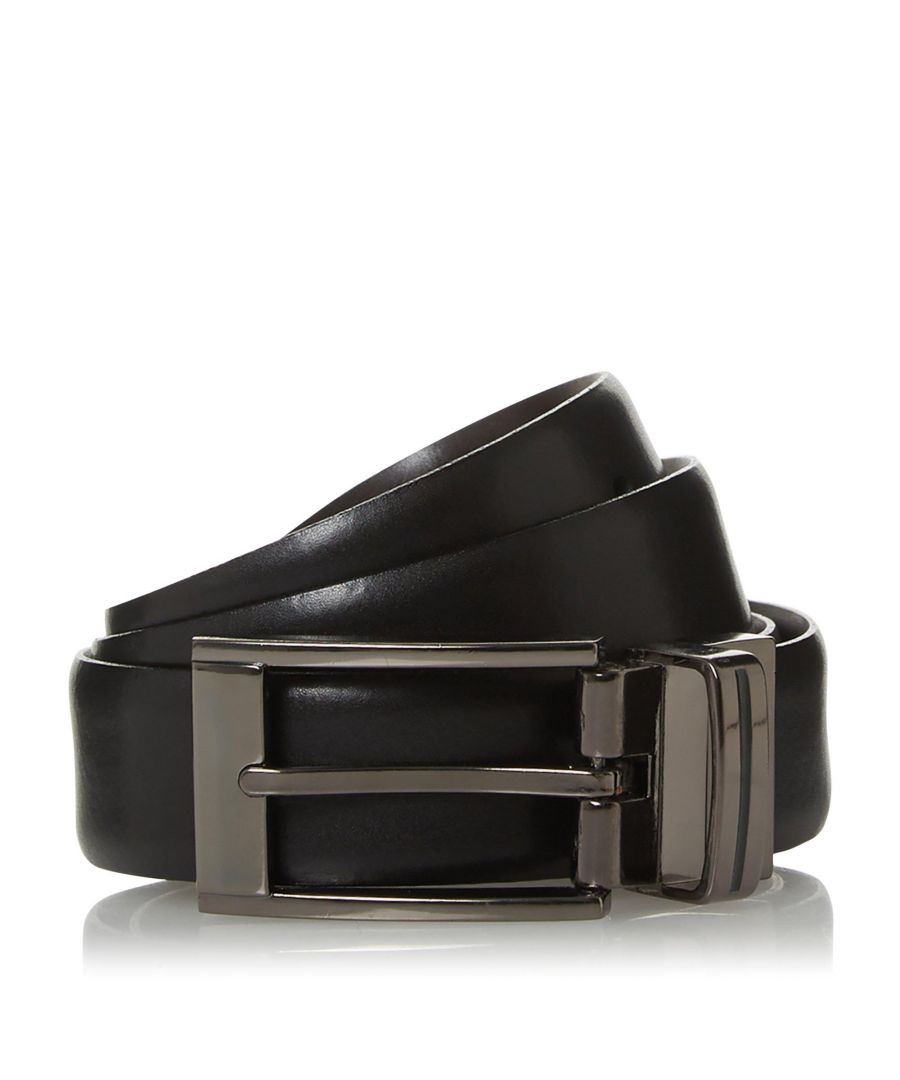 Image for Dune Mens OTTAMAN Enamel Buckle Reversible Belt