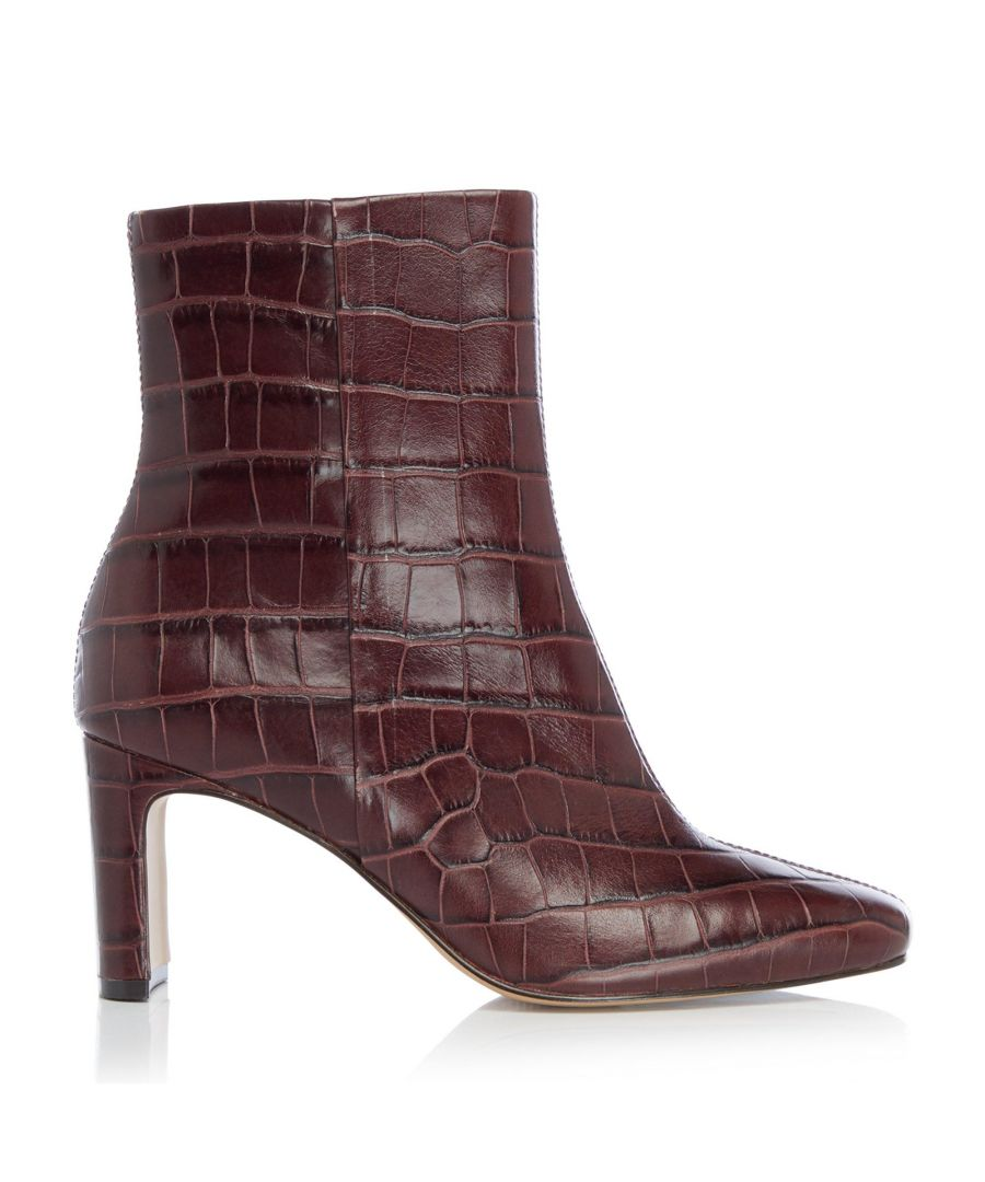 Image for Dune Ladies OUTSHINE Refined Square Toe Ankle Boots