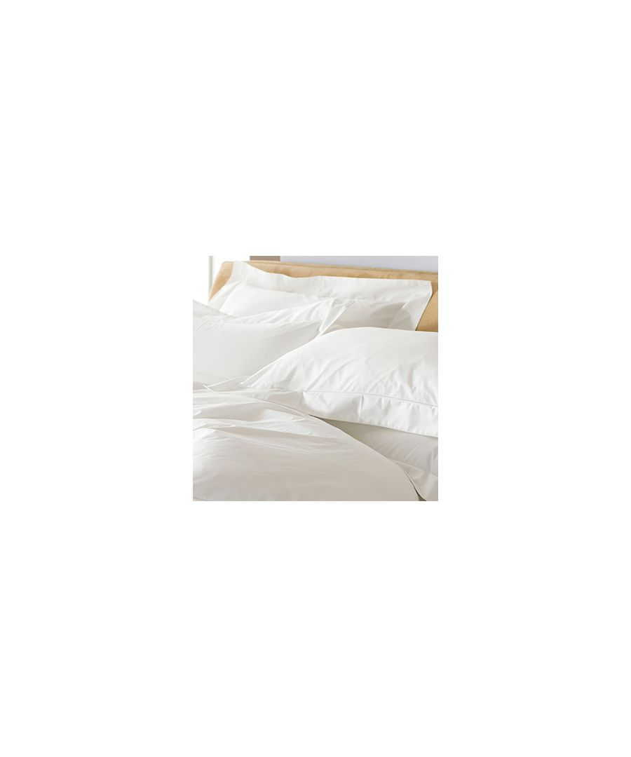 Image for 400Tc Oxford Pillowcase White