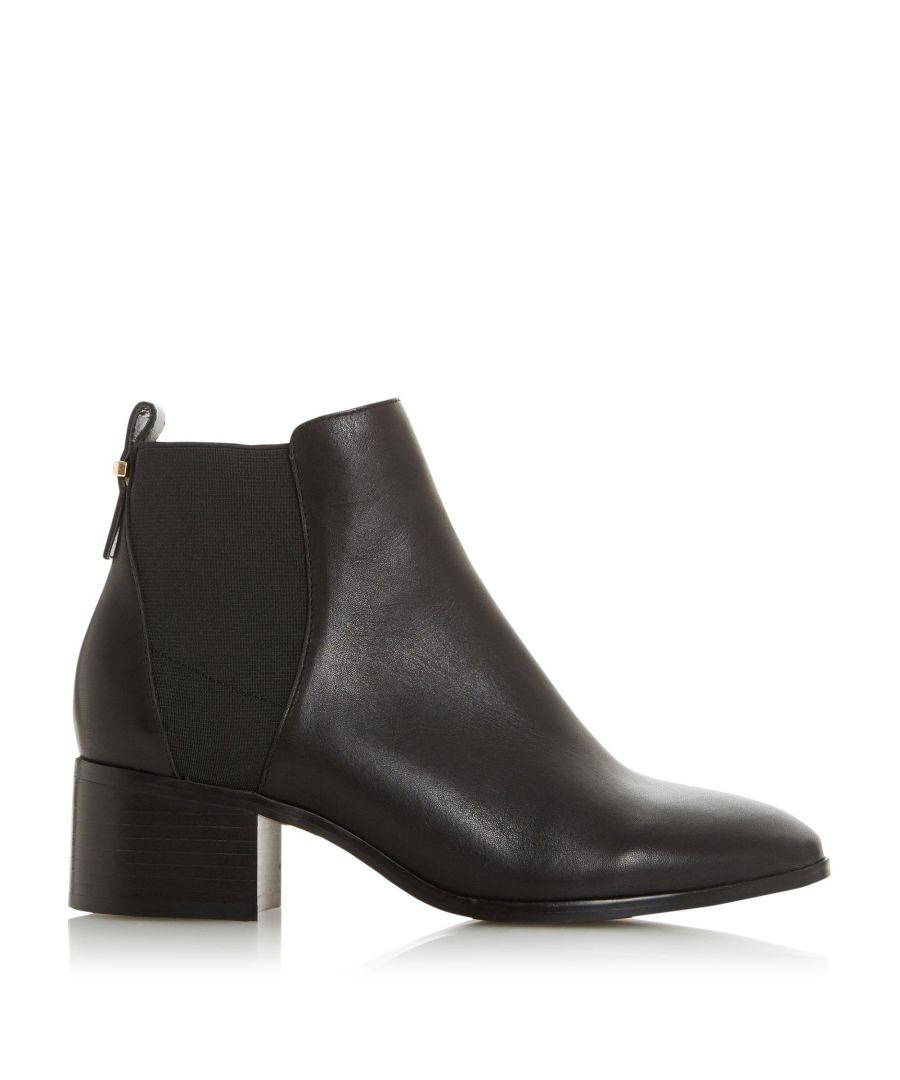 Image for Dune Ladies OZZI  Block Heel Chelsea Ankle Boots