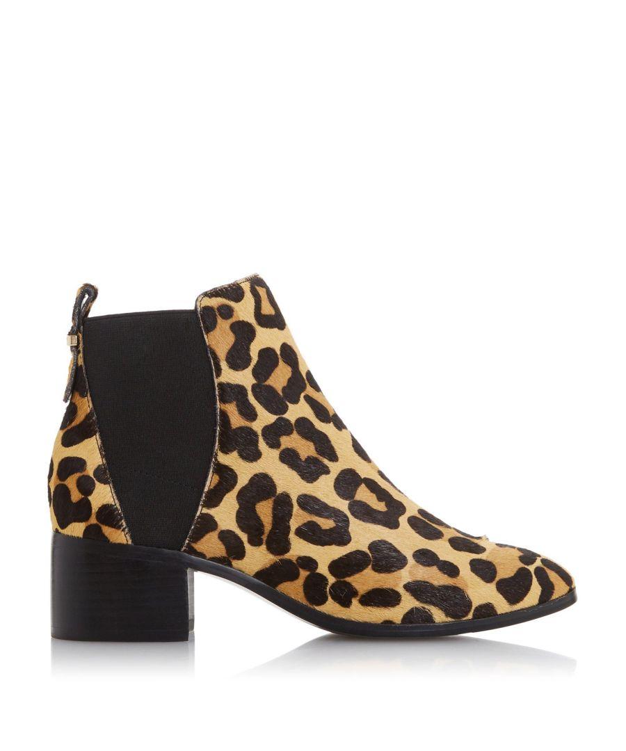 Image for Dune Ladies OZZI  Block Heel Chelsea Ankle Boots
