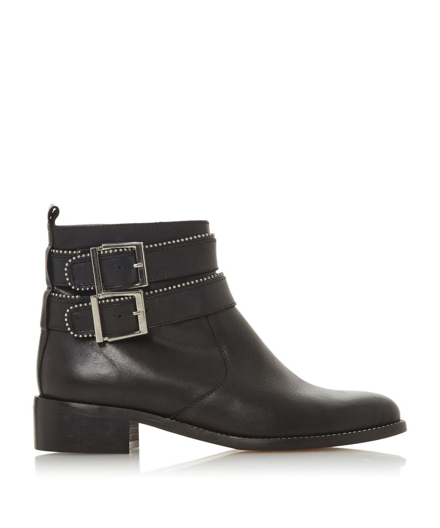 Image for Dune Ladies PABBLO Double Buckle Ankle Boots