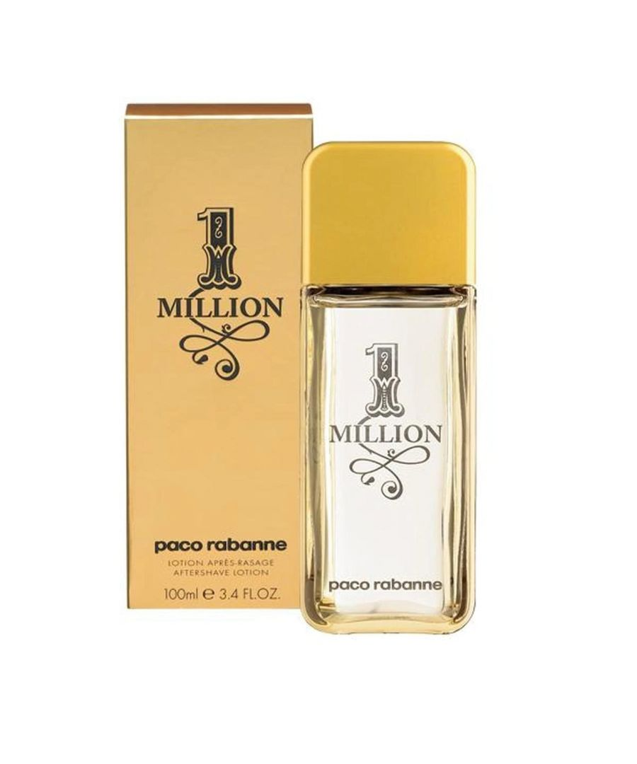 Image for Paco Rabanne 1 Million After Shave Splash 100Ml