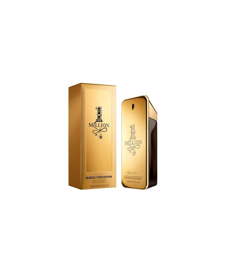 Image for PACO RABANNE 1 MILLION HOMME EDT SPRAY 200ML