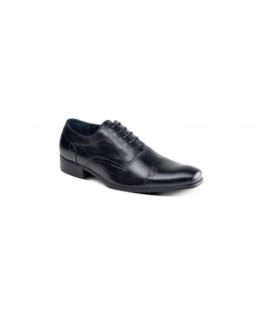 Image for Padova Black Oxford Shoe