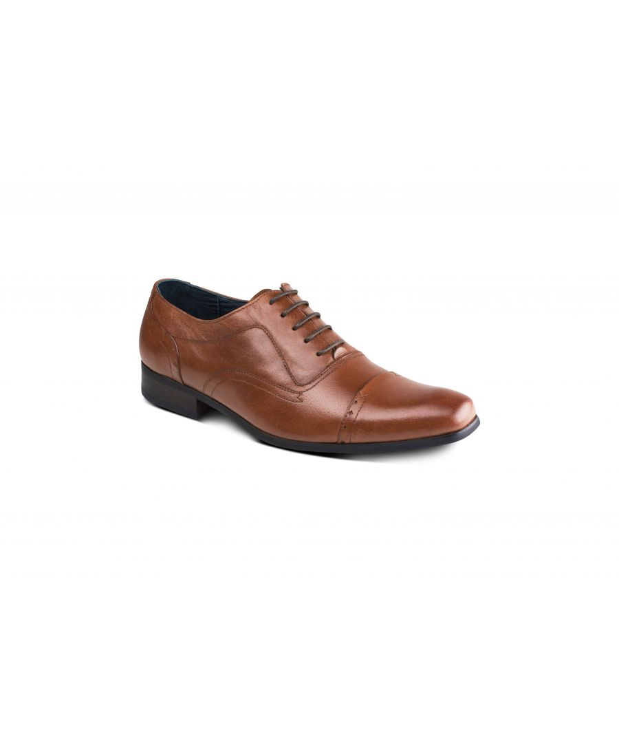 Image for Padova Tan Oxford Shoe
