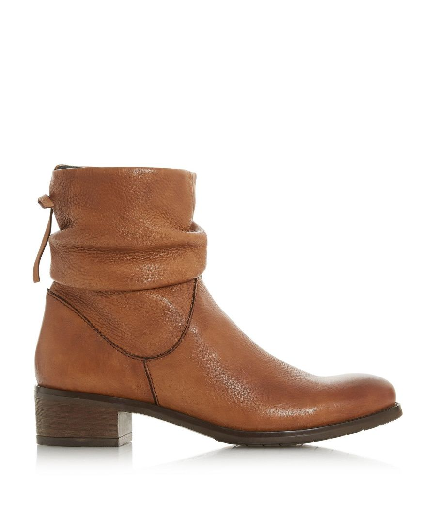 Image for Dune Ladies PAGERSS Ruched Side Zip Ankle Boots
