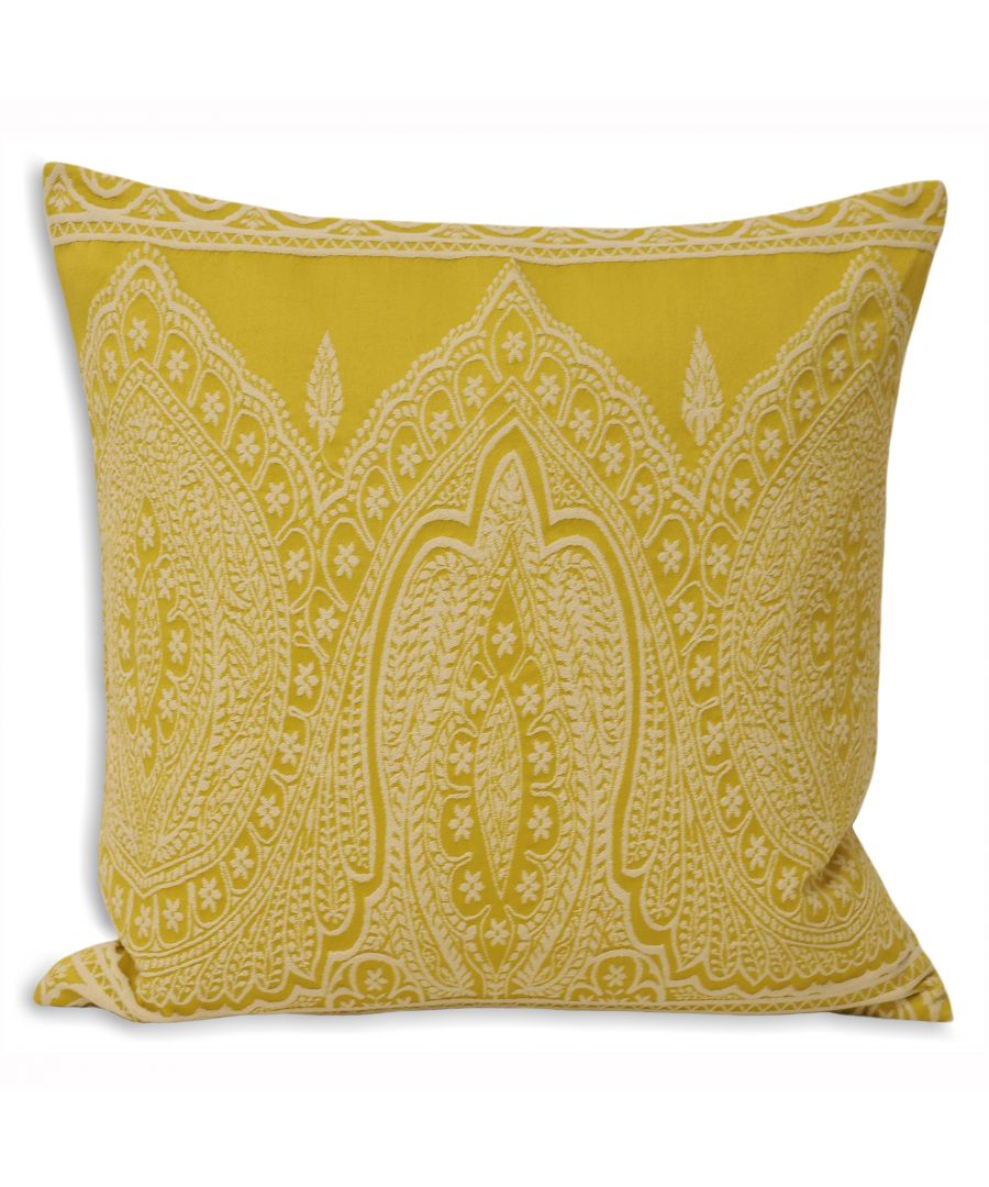 Image for Paisley Polyester Filled Cushion
