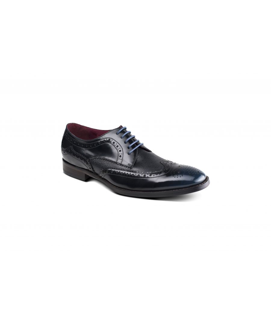 Image for Paletta Blue Brogue
