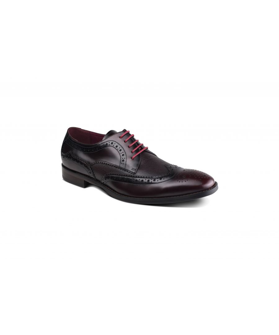 Image for Paletta Burgundy Brogue
