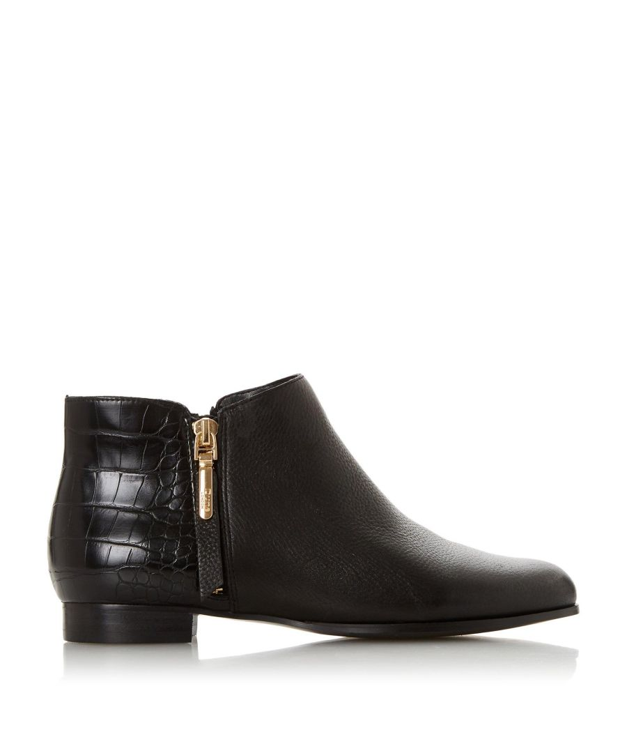 Image for Dune Ladies PANDAN Side Zip Ankle Boots