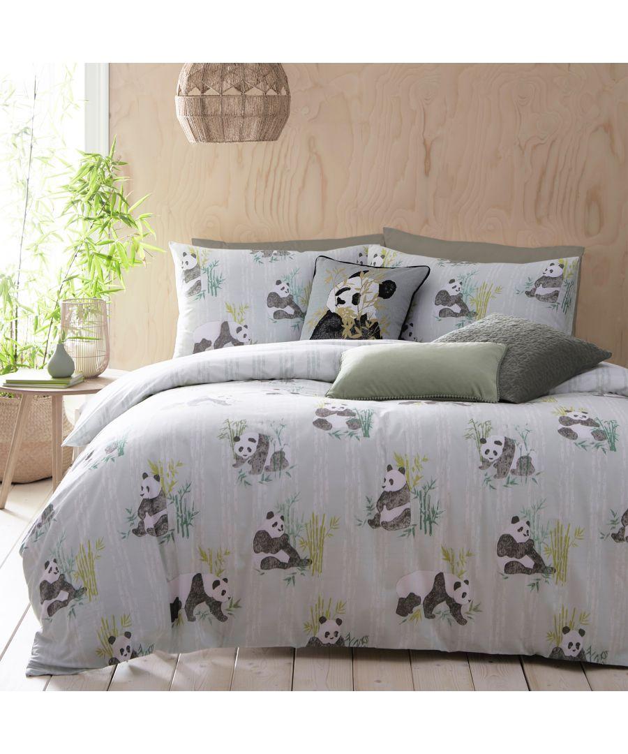 Image for Pandas Duvet Cover Set