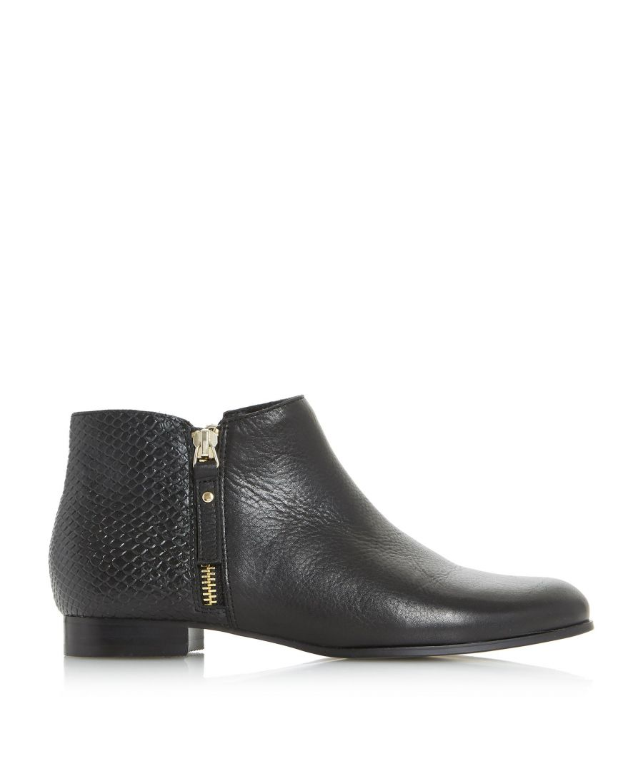 Image for Dune Ladies PANDERS Side Zip Pixie Ankle Boots