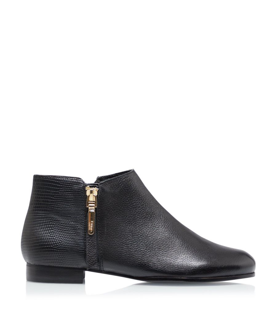 Image for Dune Ladies PANDIA Side Zip Cropped Ankle Boots
