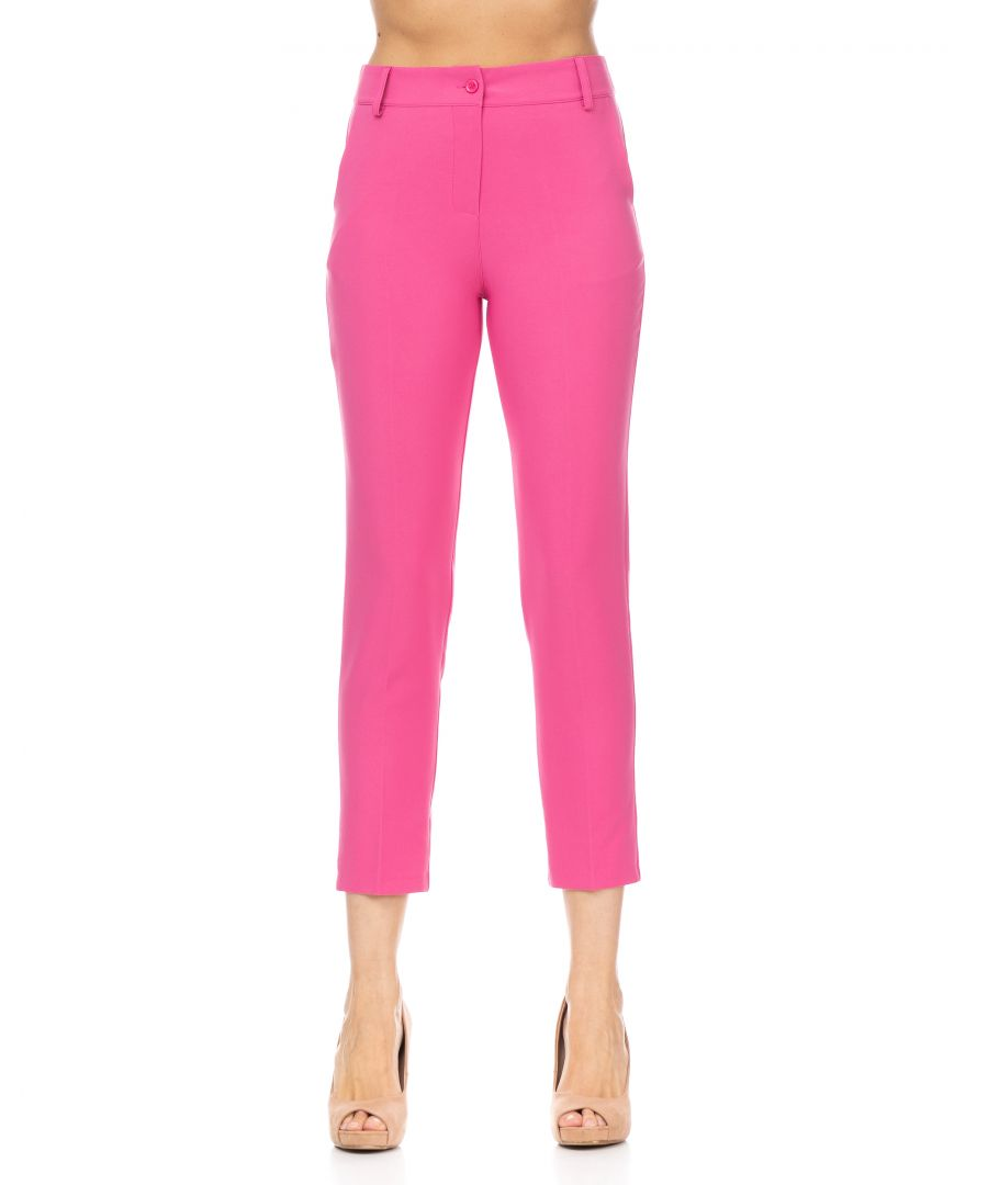 Image for Pants with waistband, pockets on the sides and on the back