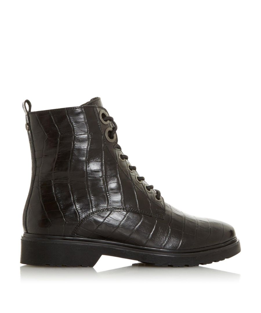 Image for Dune Ladies PARKLAND Faux Shearling Lined Hiker Boots