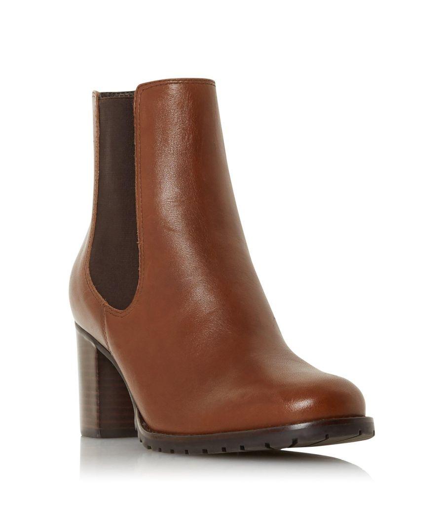 Image for Dune Ladies PARTNA Mid Block Heel Ankle Boot