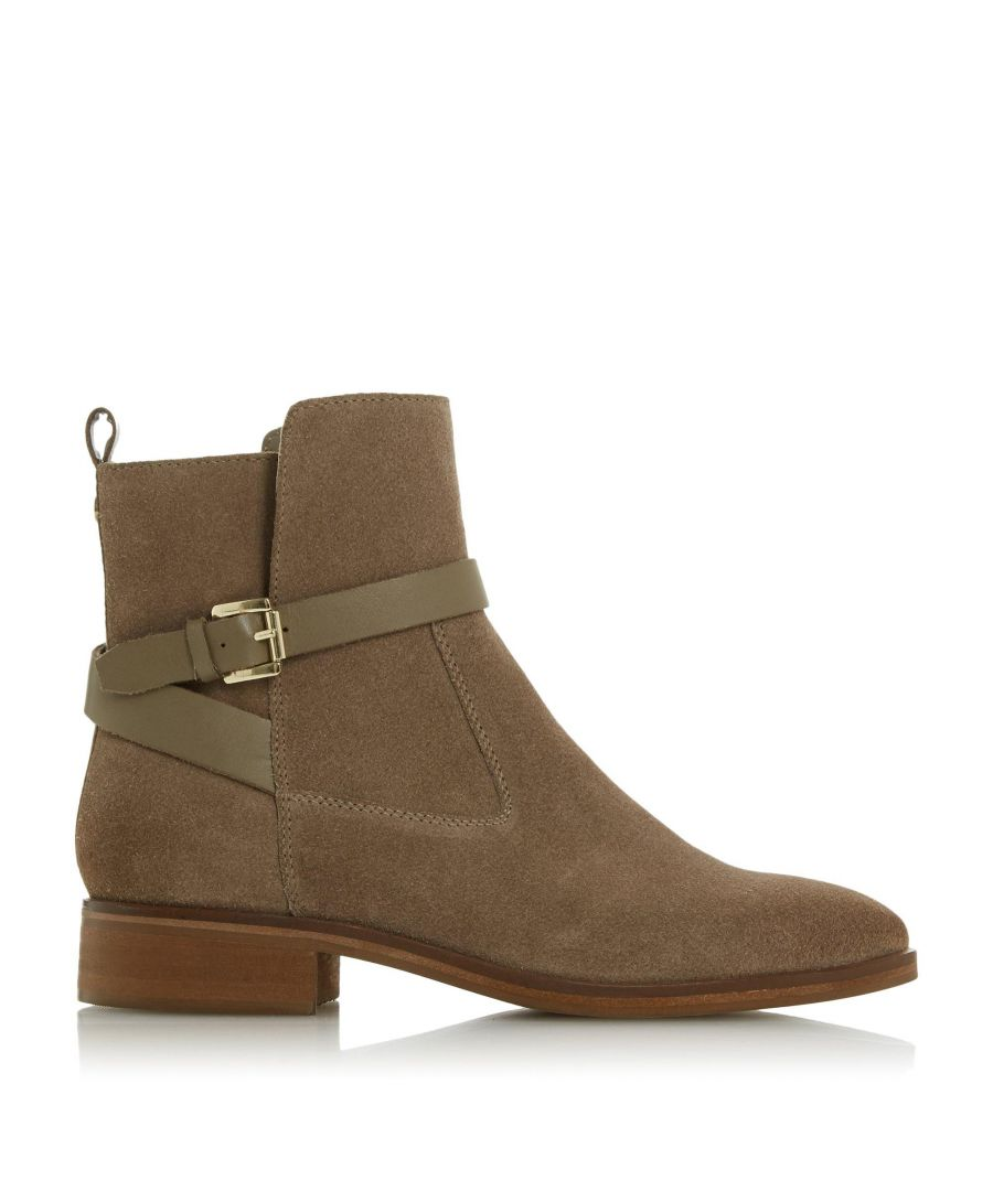 Image for Dune Ladies PATRIZO JL Buckled Ankle Boots