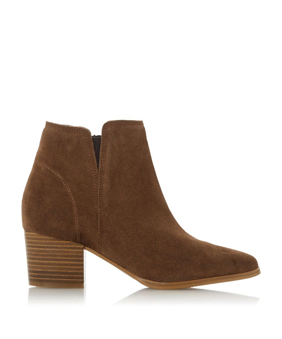 Image for Dune Ladies PAYGE Mid Block Heel Ankle Boot