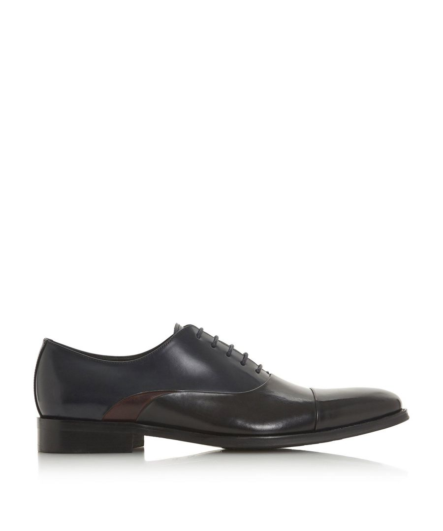 Image for Dune Mens PEACOCK Toe Cap Smart Oxford Shoes