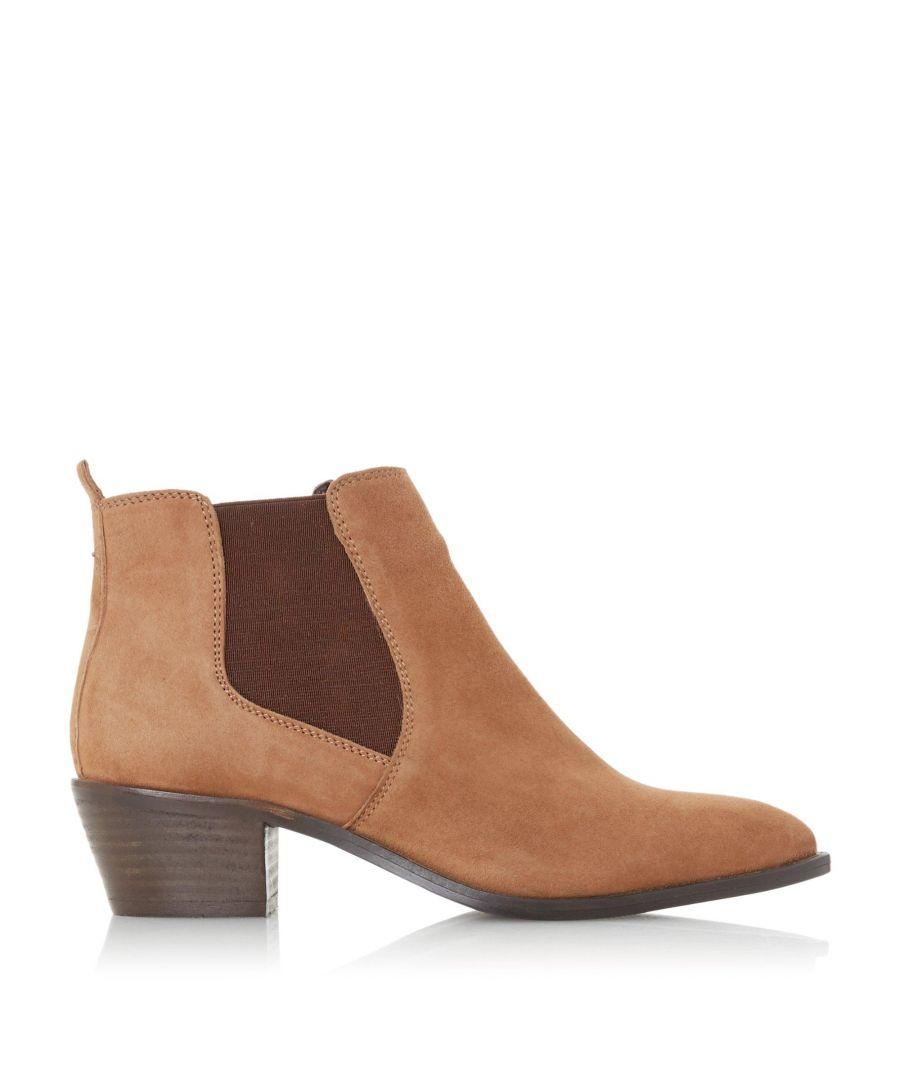 Image for Bertie Ladies PEATER Block Heel Chelsea Boots