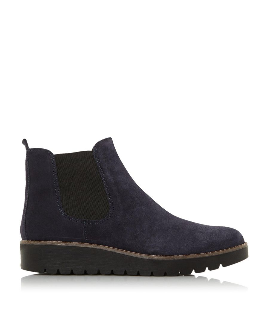 Image for Dune Ladies PENINSULAR Flatform Chelsea Ankle Boots