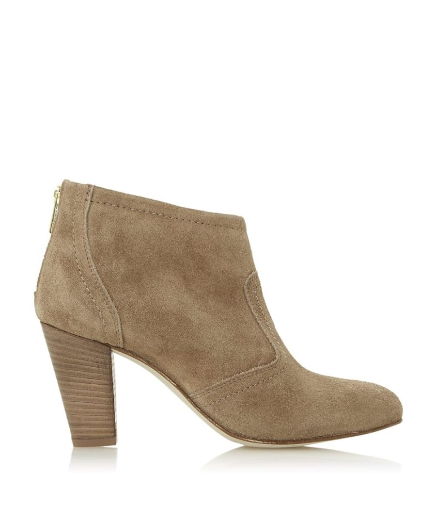 Image for Dune Ladies PENNEYS Western Stacked Heeled Boots