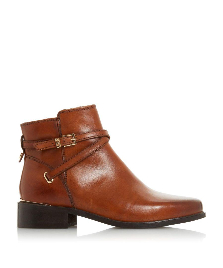 Image for Dune Ladies PEPER Low Block Heel Ankle Boots
