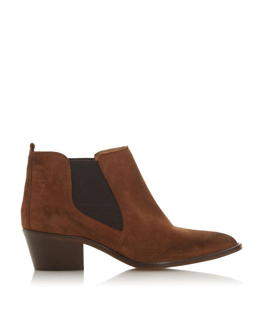 Image for Dune Ladies PERBECK Block Heel Chelsea Boots