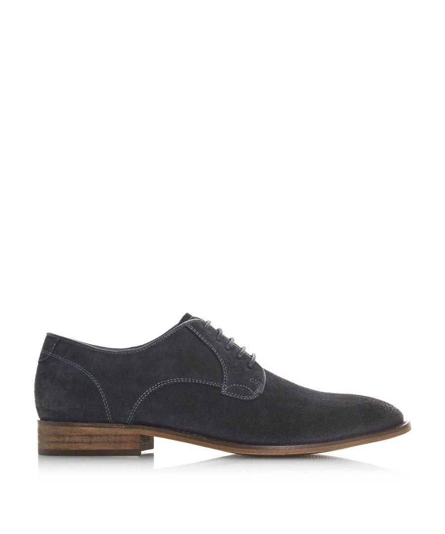 Image for Bertie Mens PERCIE Textured Lace-Up Smart Gibson Shoes