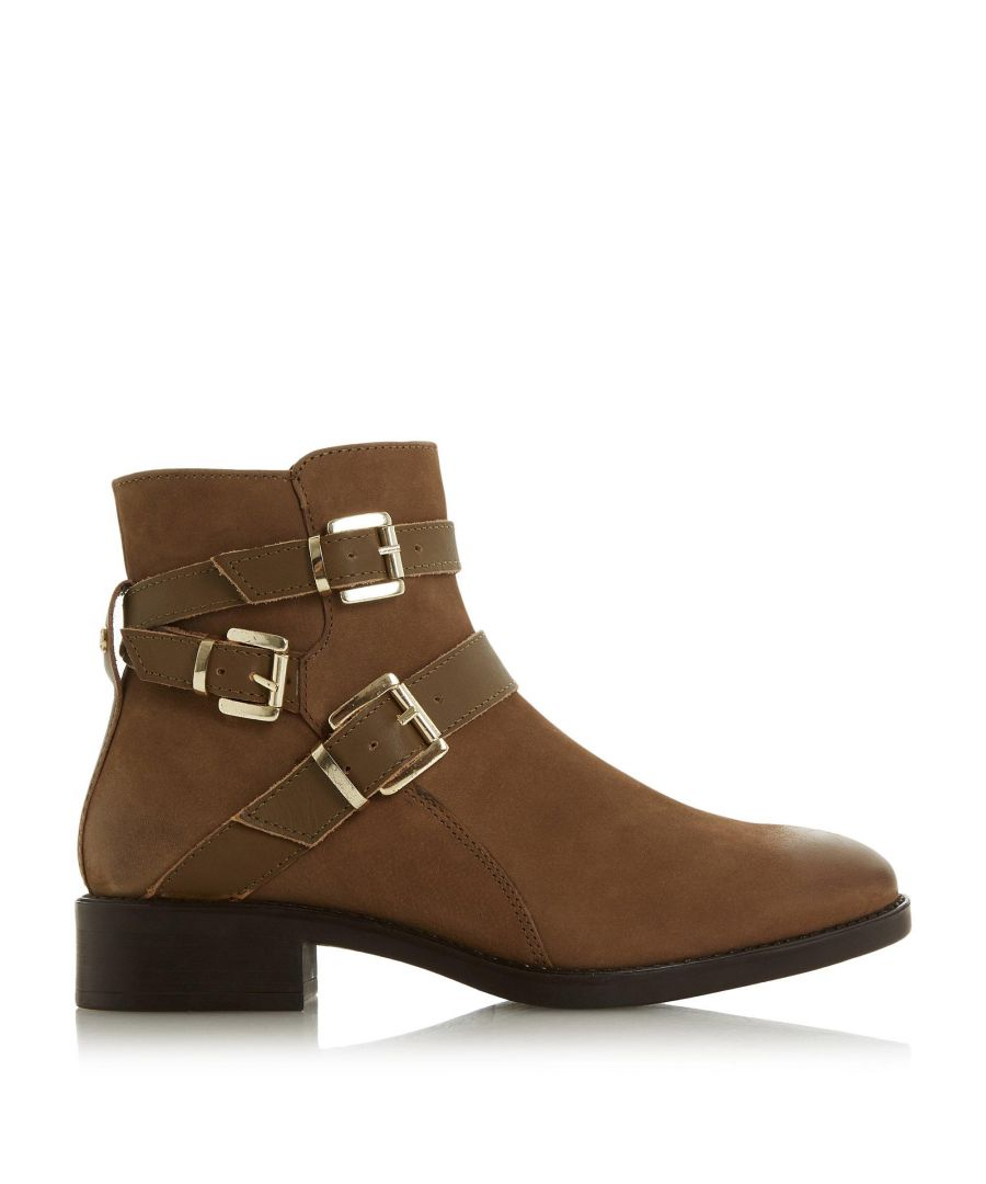 Image for Dune Ladies PHEONIXX Buckle Detail Ankle Boots