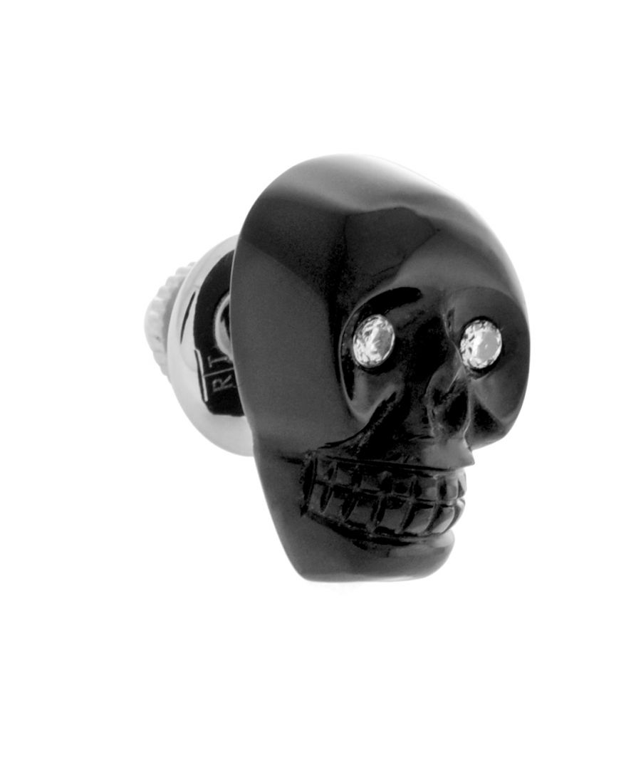 Image for Stain Steel  Crystal  Black  Organic  CystalSkull