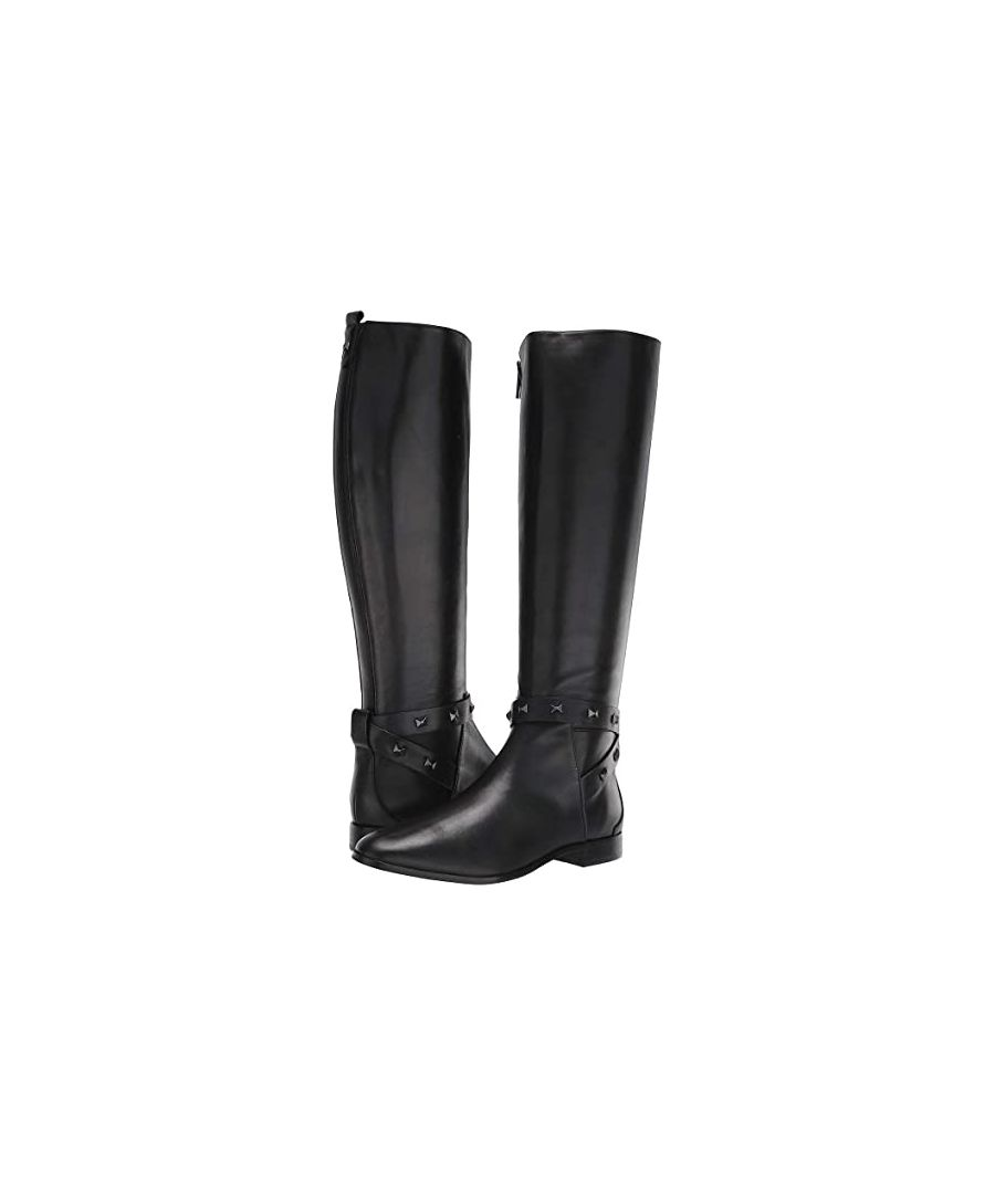 Image for Ted Baker Plannia Bow Detail Strap High Boot in Black